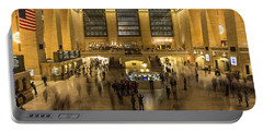 Grand Central Station Portable Battery Charger by Martin Newman