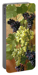Grapes Portable Battery Charger by Edward Chalmers Leavitt