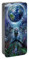 Gratitude For The Earth And Sky Portable Battery Charger by Cameron Gray