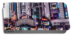 Hard Rock Cafe Portable Battery Charger by Paul Ward