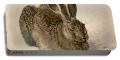 Hare Portable Battery Charger by Albrecht Durer