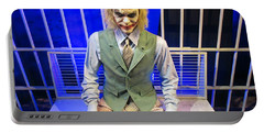 Heath Ledger As The Joker Portable Battery Charger by John Malone