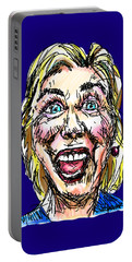 Hillary Portable Battery Charger by Robert Yaeger