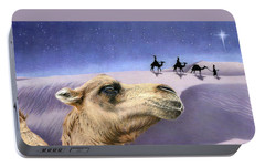 Holy Night Portable Battery Charger by Sarah Batalka