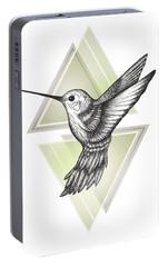 Hummingbird Portable Battery Charger by Barlena