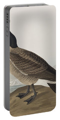 Hutchins's Barnacle Goose Portable Battery Charger by John James Audubon
