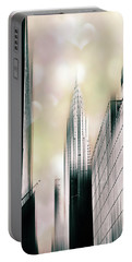 I Love New York Portable Battery Charger by Jessica Jenney