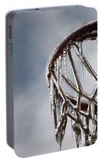 Icy Hoops Portable Battery Charger by Nadine Rippelmeyer
