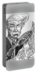 Idiots Guide To Becoming President Portable Battery Charger by Robert Yaeger