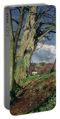 In Early Spring Portable Battery Charger by John William Inchbold