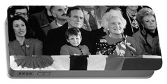 Inauguration Of George Bush Sr Portable Battery Charger by H. Armstrong Roberts/ClassicStock