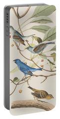 Indigo Bird Portable Battery Charger by John James Audubon