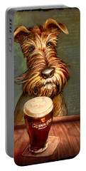 Irish Toast Portable Battery Charger by Sean ODaniels