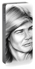Jan Michael Vincent Portable Battery Charger by Greg Joens