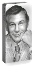 Johnny Carson Portable Battery Charger by Greg Joens