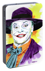 Jokernicholson Portable Battery Charger by Ken Meyer jr