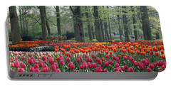 Keukenhof Garden, Lisse, The Netherlands Portable Battery Charger by Panoramic Images