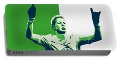 Kevin De Bruyne Portable Battery Charger by Semih Yurdabak