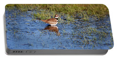Killdeer Reflections Portable Battery Charger by Francie Davis