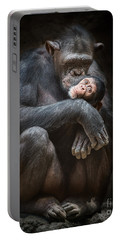 Kiss From Mom Portable Battery Charger by Jamie Pham