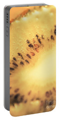 Kiwi Margarita Details Portable Battery Charger by Jorgo Photography - Wall Art Gallery