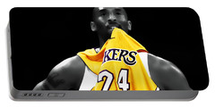 Kobe Bryant 04c Portable Battery Charger by Brian Reaves