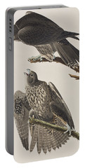 Labrador Falcon Portable Battery Charger by John James Audubon