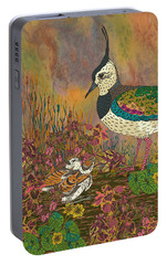 Lapwing Revival Portable Battery Charger by Lotti Brown