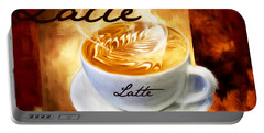 Latte Portable Battery Charger by Lourry Legarde