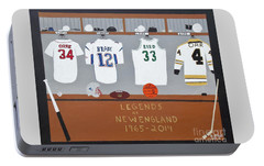 Legends Of New England Portable Battery Charger by Dennis ONeil