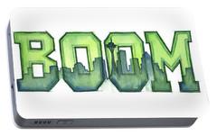 Legion Of Boom Portable Battery Charger by Olga Shvartsur