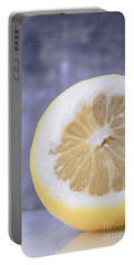 Lemon Half Portable Battery Charger by Edward Fielding