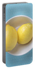 Lemon Pop Portable Battery Charger by Edward Fielding