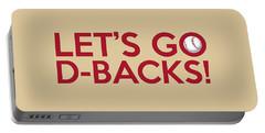 Let's Go D-backs Portable Battery Charger by Florian Rodarte