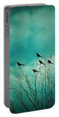Like Birds On Trees Portable Battery Charger by Trish Mistric