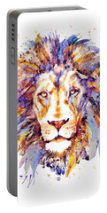 Lion Head Portable Battery Charger by Marian Voicu