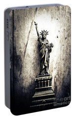 Little Lady Of Vintage Usa Portable Battery Charger by Jorgo Photography - Wall Art Gallery