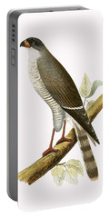 Little Red Billed Hawk Portable Battery Charger by English School