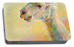 Lolly Llama Portable Battery Charger by Kimberly Santini