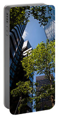 London Skyline Portable Battery Charger by Dawn OConnor