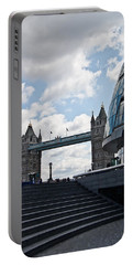 London Tower Bridge Portable Battery Charger by Dawn OConnor