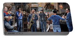 L'orchestra Portable Battery Charger by Guido Borelli