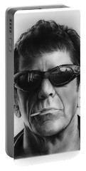 Lou Reed Portable Battery Charger by Greg Joens