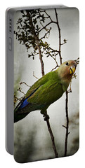 Lovebird  Portable Battery Charger by Saija  Lehtonen