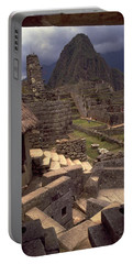 Portable Battery Charger featuring the photograph Machu Picchu by Travel Pics