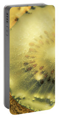 Macro Shot Of Submerged Kiwi Fruit Portable Battery Charger by Jorgo Photography - Wall Art Gallery