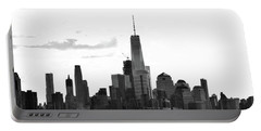 Manhattan Skyline No. 17-2 Portable Battery Charger by Sandy Taylor