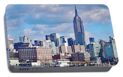 Manhattan Skyline No. 7-1 Portable Battery Charger by Sandy Taylor