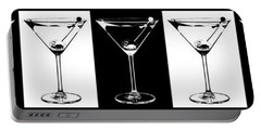 Martini Party Portable Battery Charger by Jon Neidert