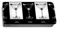 Martini Week Portable Battery Charger by Jon Neidert